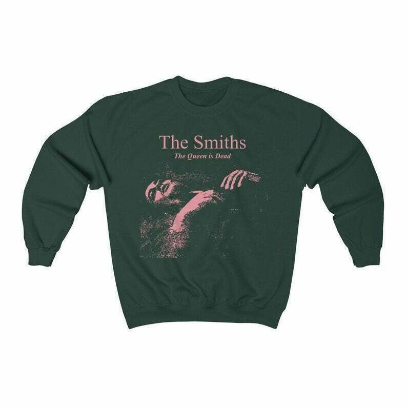 The Smiths Sweatshirt - The Smiths The Queen is Dead Sweatshirt - Vintage Smiths - Morrissey - The Smiths Hoodie