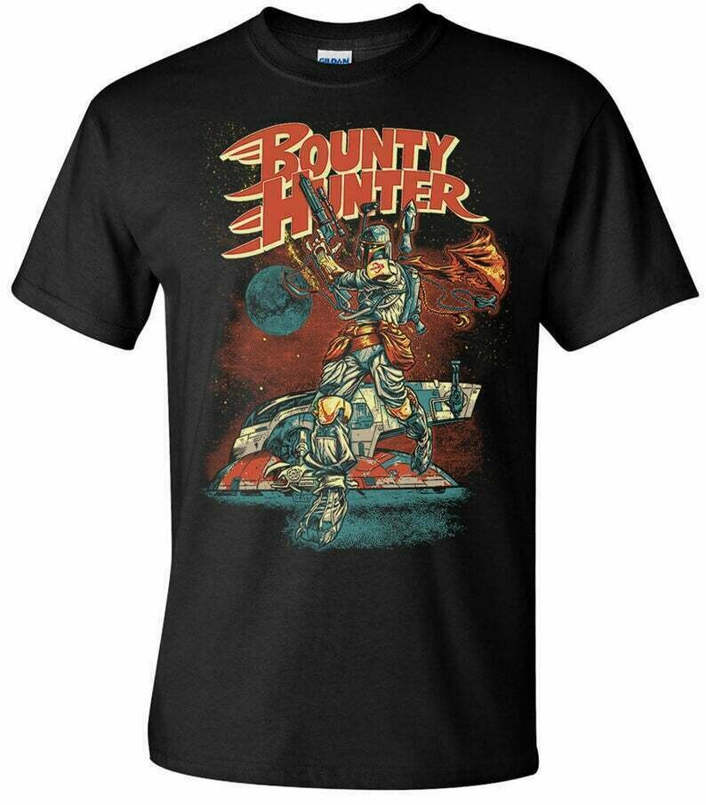 Boba Fett Bounty Hunter Classic Men's T-Shirt Star Wars Inspired T-Shirts