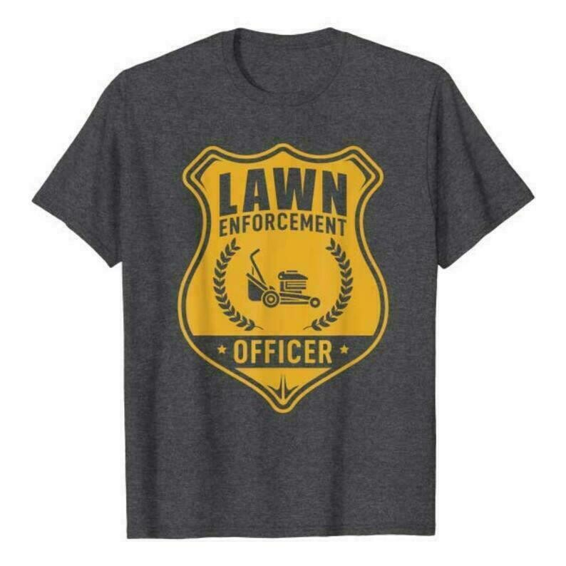 Lawn Enforcement Officer Shirt, Gardening Unisex T-shirt, Gardening gift, Gifts for Gardeners, Plant shirt, Plant Lovers, Save the Earth