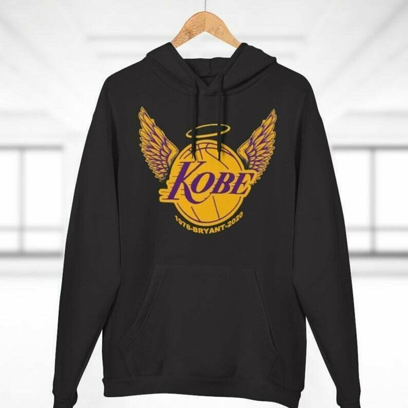 Kobe Bryant Los Angeles Lakers Black Mamba Hoodie, Kobe Bryant Gift, Kobe Bryant Fans, Kobe Bryant NBA Hoodie, Adult, Youth Size Available