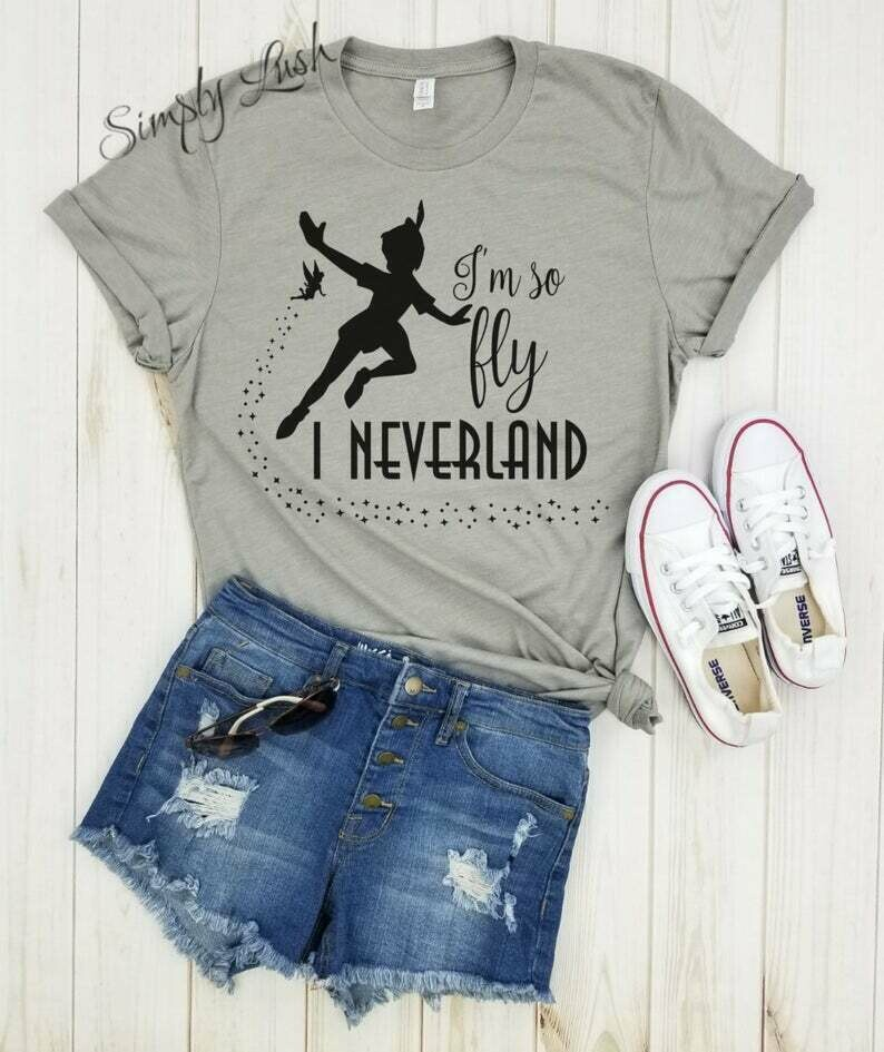 I'm so fly I neverland Peter Pan - youth shirt, disney top, disneyland shirt, disneyworld shirt, peter pan shirt, disney inspired, disney.