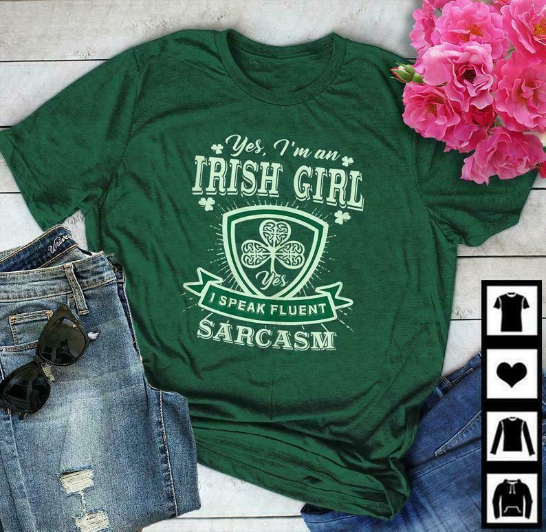 Womens I'm An Irish Best Girl Perfect St Patrick's Day