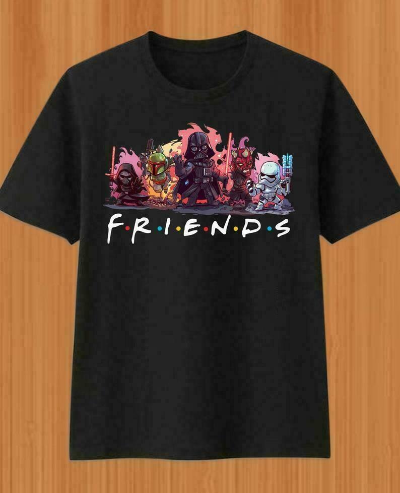 Friends Star Wars Anakin Skywalker Aka Darth Vader Sith Lord Stormtrooper Soldier Family Vacation Fan Gift for Women Men Sweatshirt T Shirt