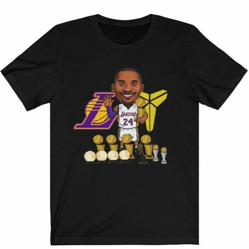 Kobe Bryant Champion Shirt, Kobe Bryant Fans, Kobe Bryant Lovers Gift, Kobe Bryant Los Angeles Lakers, Adult and Youth Size, Up To 5XL