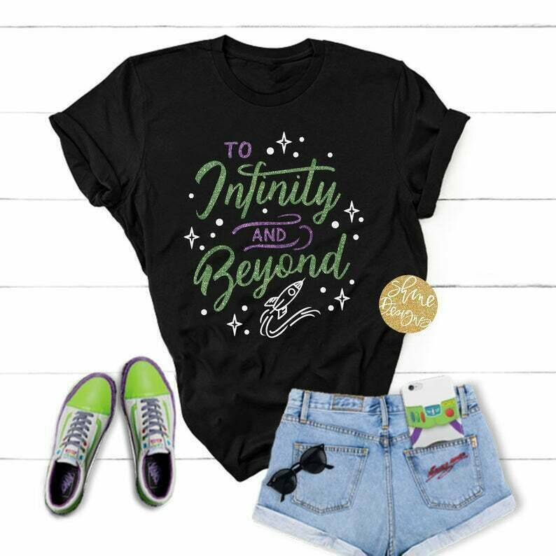 To Infinity And Beyond - Toy Story Shirt - Magical Glitter Shirt