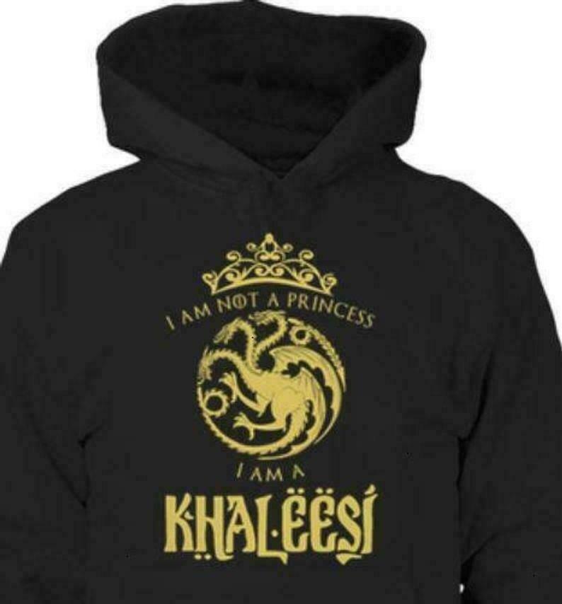 I Am Not A Princess I Am A Khaleesi Game Of Thrones Dracarys Dragon Daenerys Targaryen Not Today Arya Stark GOT Fans T Shirt