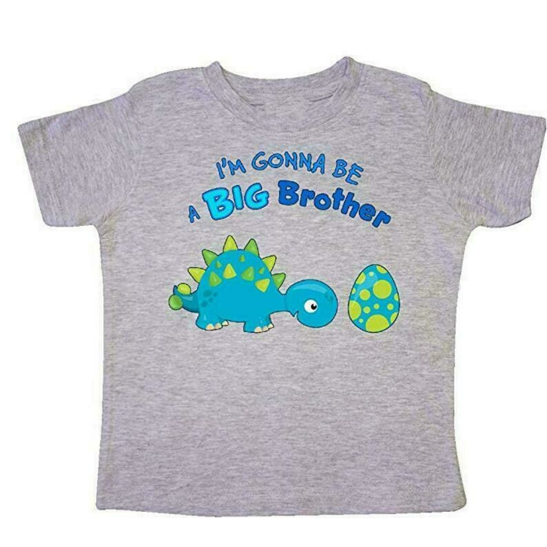 Future Big Brother Dinosaur Toddler Shirt, Boy T-shirt, Baby Shower Gift, Big Brother Announcement, New Baby Reveal Gift