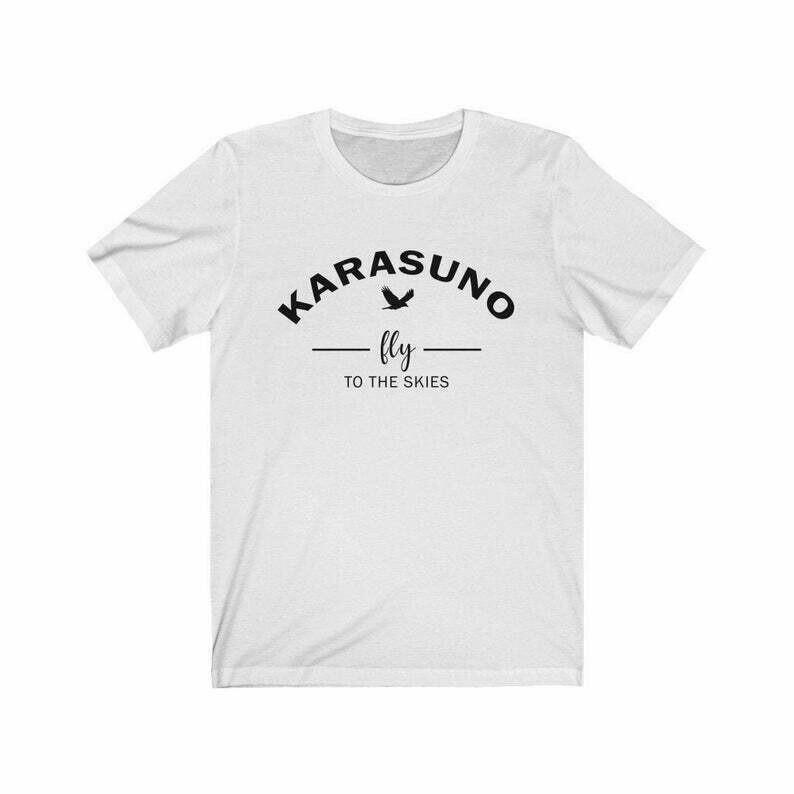 Haikyuu Karasuno High School Volleyball Club /Japenese high school in Miyagi Prefecture / Unisex t-shirt