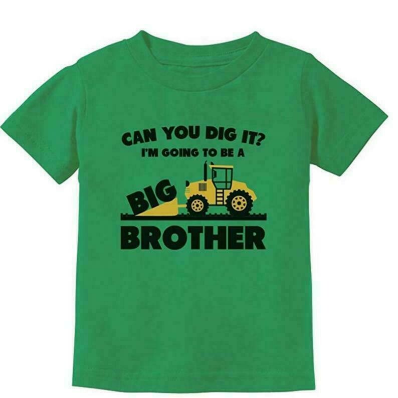 Going to Be Big Brother Gift for Tractor Loving Boys Toddler/Youth, Pregnancy Announcement Shirt, Big Brother Gift, Baby Reveal T shirt