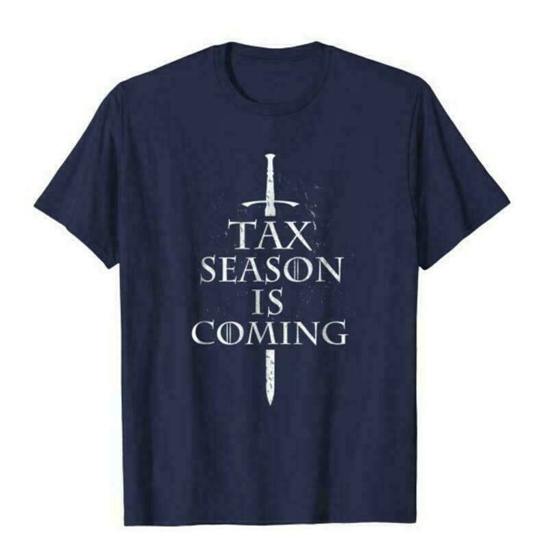 Tax Season is Coming Funny Accountant Bookkeeper Unisex T Shirt, Auditor Gift, Accountant Shirt, Tax Auditor Gift Soft Cotton