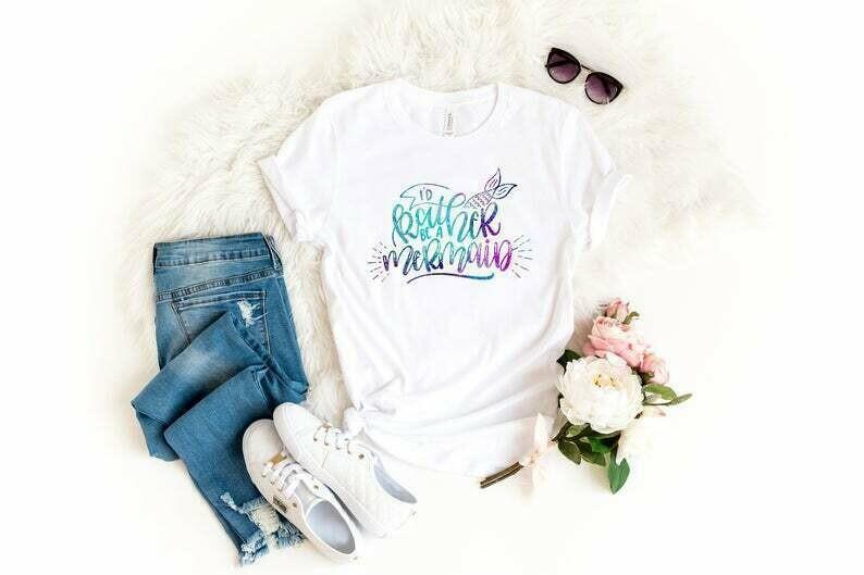 Id Rather Be A Mermaid, Mermaid Shirt Women, Im Really A Mermaid Shirt, Mermaid Lover Gift, Mermaid Tshirt For Women, Cute Shirts For Women
