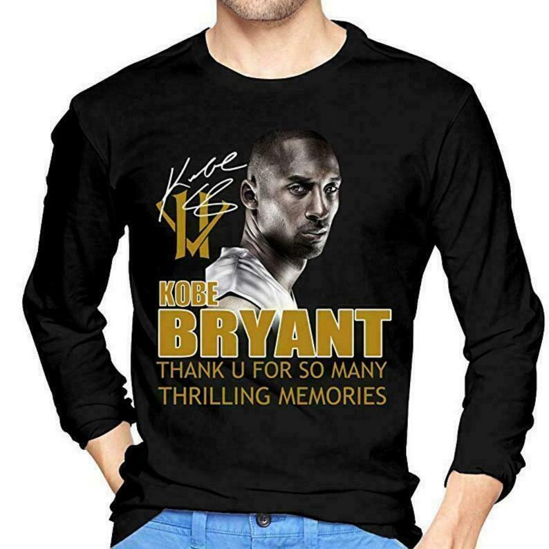 Kobe Bryant Long Sleeve T-Shirts Black, Kobe Bryant Memory Shirt, Kobe Bryant Los Angeles Lakers Legend, NBA Long Sleeve Shirt