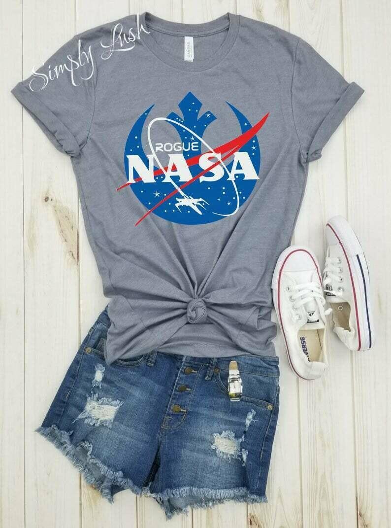 Rogue NASA - shirt, Nasa logo, star wars shirt, Rebel Alliance Shirt, Rebel Scum shirt, NASA shirt, Space shirt, Nasa tee, nasa tshirt.
