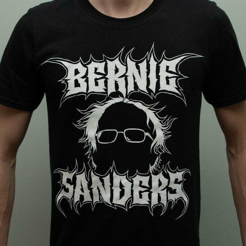 Brutal Black Metal Bernie Sanders Shirt
