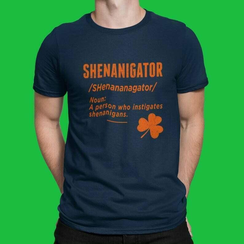 Shenanigator St. Patrick's Day Patty Day Shenanigans T Shirt