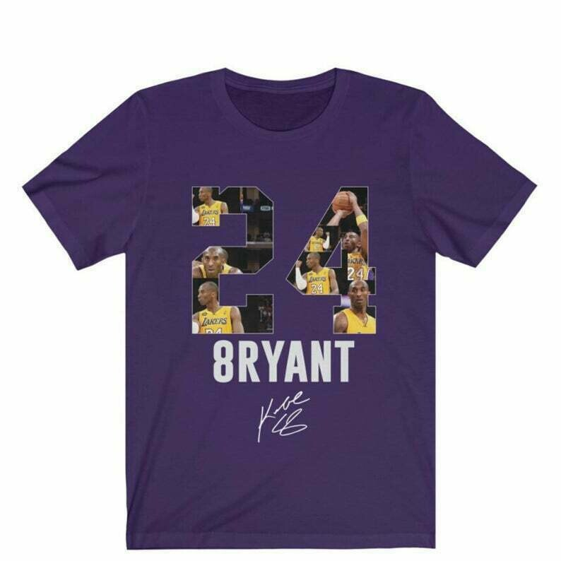 Kobe Bryant Los Angeles Lakers Shirt, Kobe Bryant T-shirt, Kobe Bryant Fans Gift, Kobe Bryant Memorial Tee, Unisex T shirt, Up to 5XL
