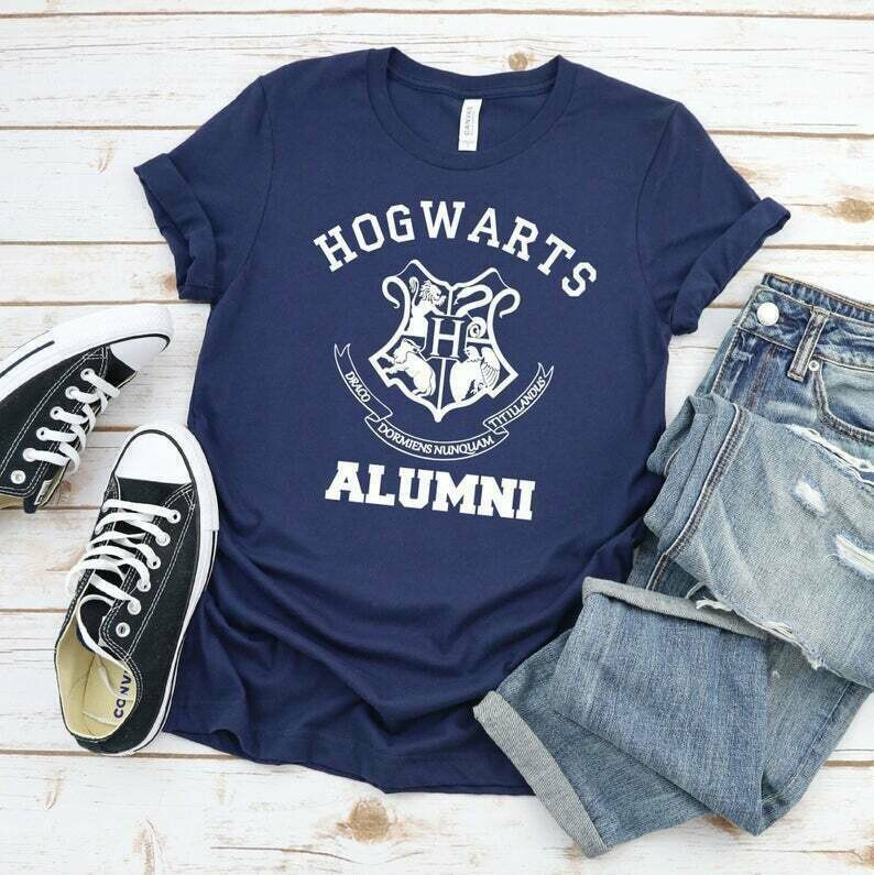 Hogwarts Alumni, Harry Potter Inspired Shirt, Universal Studios Shirt, ALWAYS Snape Inspired Shirt, Universal Studios Shirt