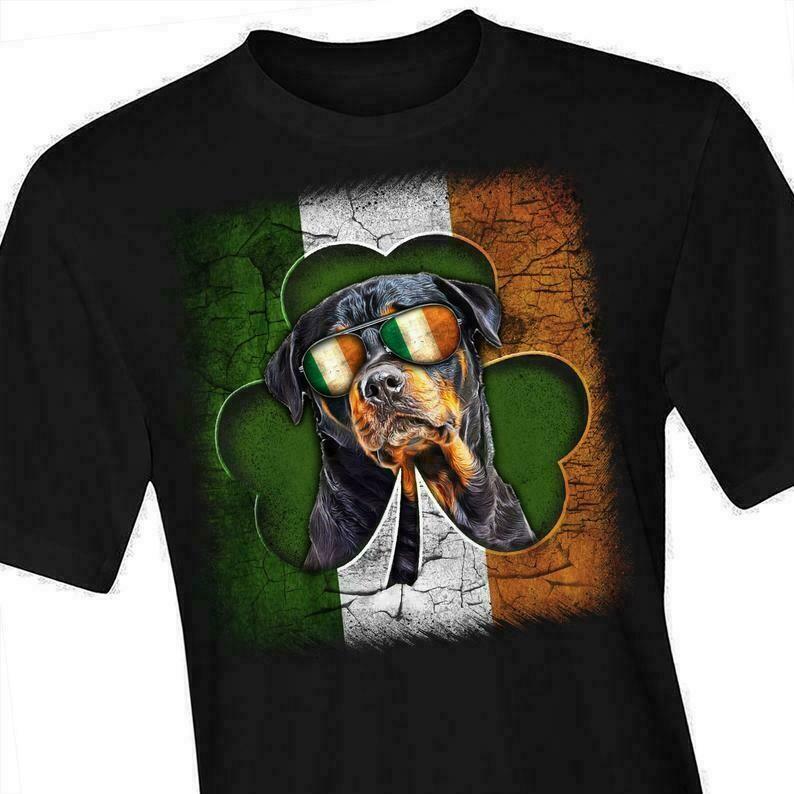 Cool Dog in Irish - Happy St. Patrick's day shirt T-shirt Shamrock shirt - pa1
