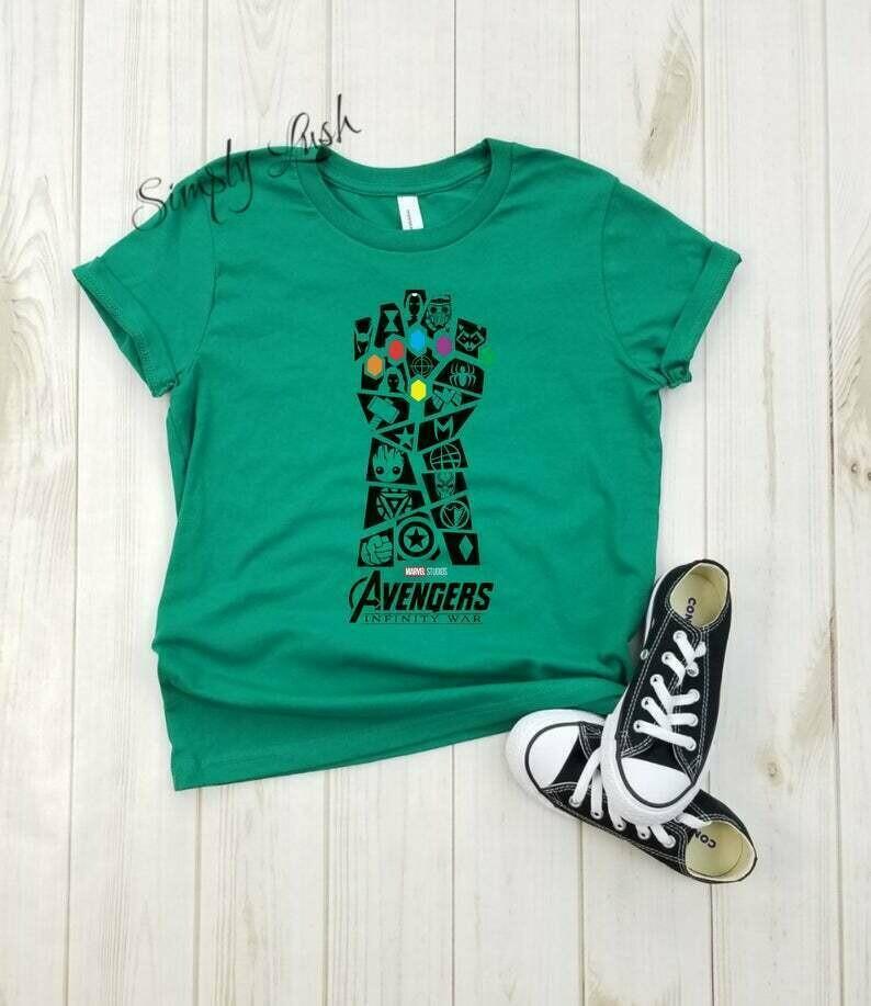 Infinity war Advengers hand - toddler shirt, marvel comics shirt, disney shirt, thanos, iron man, thor, hulk, spider man, captain america.