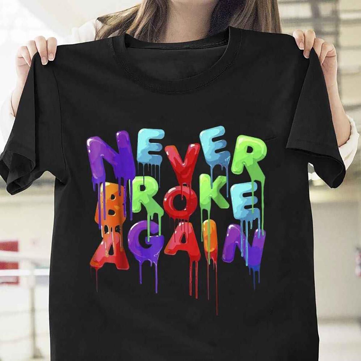 Youngboy Never Broke Again Colorful T Shirt Black Cotton Men T-Shirt Cartoon t shirt men Unisex New Fashion tshirt