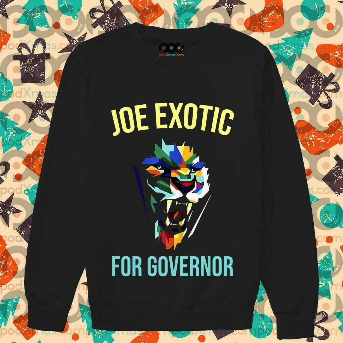 Joe Exotic For Governor T-Shirt
