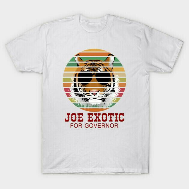 Joe Exotic For Governor T-Shirt, Joe Exotic Shirt T-Shirt