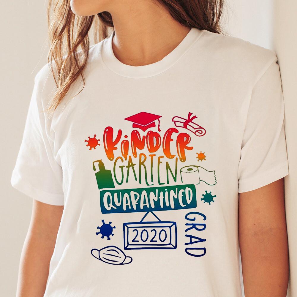 Kindergarten Grad 2020 Quarantined T-shirt