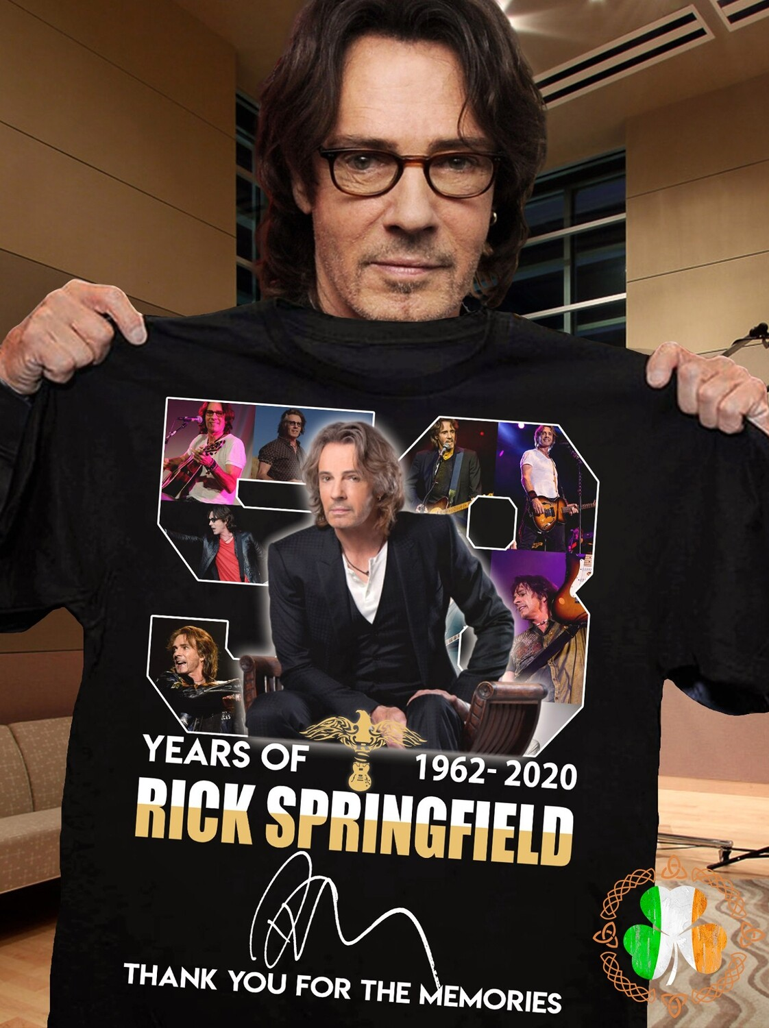 58 Years Of Rick Springfield 1962 2020 Thank You For The Memories Shirt