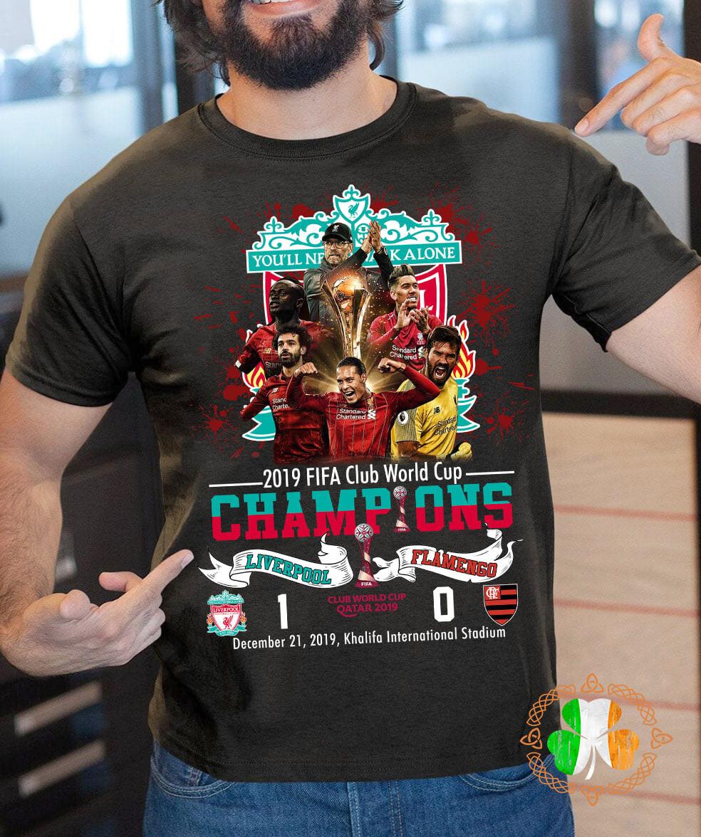 You'll never walk alone 2019 FIFA club world cup champions shirt