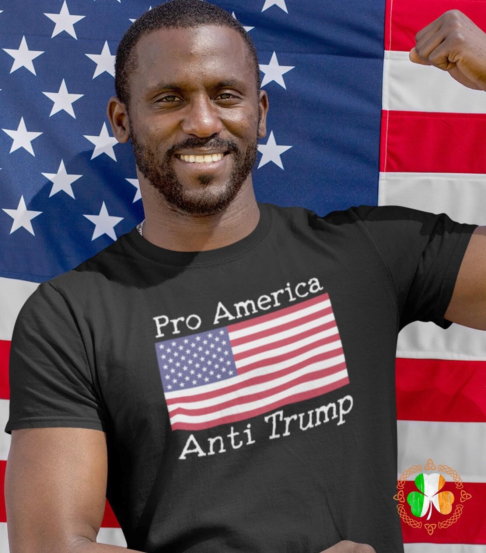 Pro America Anti Trump shirt