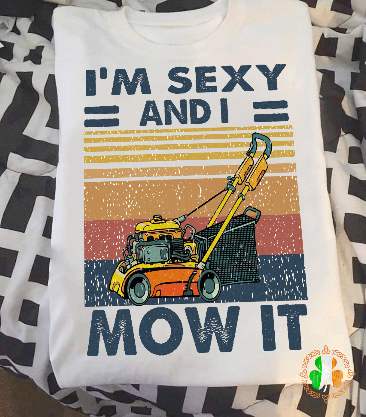 I'm Sexy And I Mow It, Vintage shirt