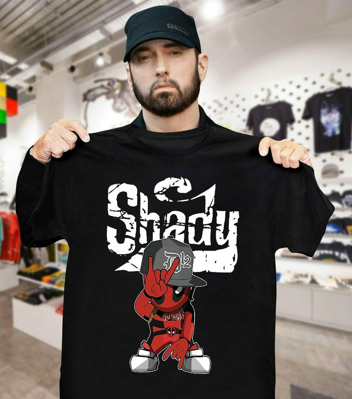 Official Deadpool Style Slim Shady shirt