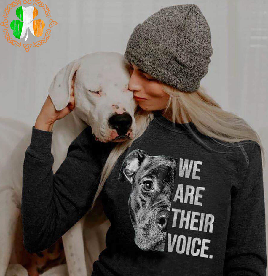 We Are Their Voice – Labrador Retriever Version shirt