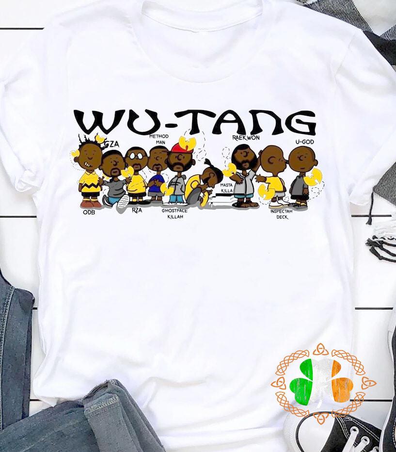 Wu-Tang clan members chibi shirt