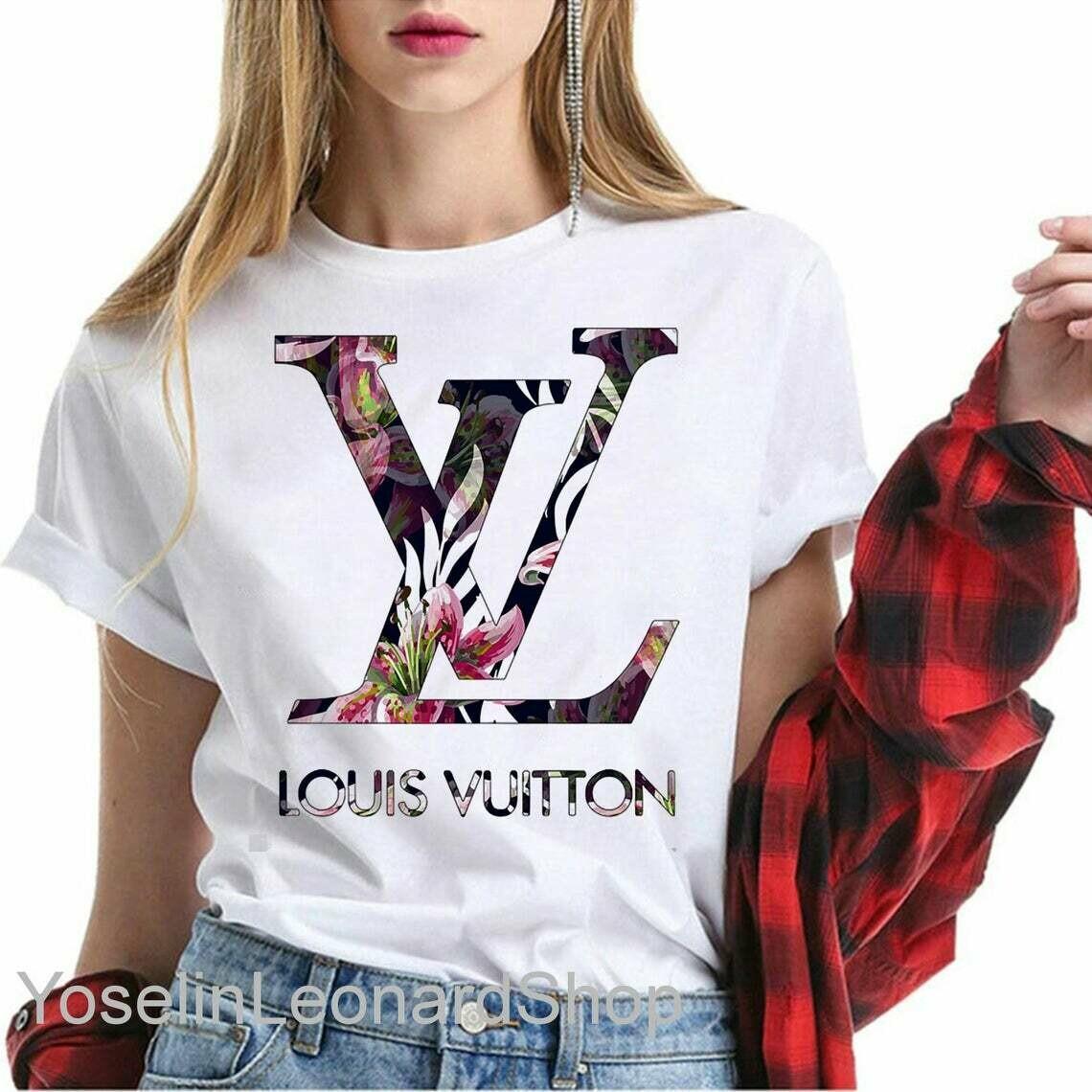 Louis Vuitton, Bleached T Shirt, Louis vuitton  Shirt