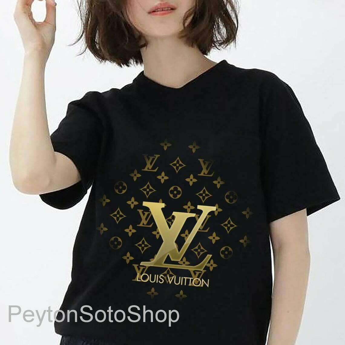 LV Shirt, Louius Vuition, Shirt For Men Women, Luxury Shirts
