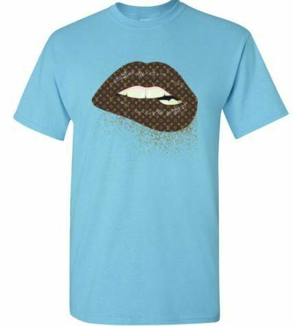 Lips LV shirt, LV lips, fashion shirt, Louis Vuition shirt 2