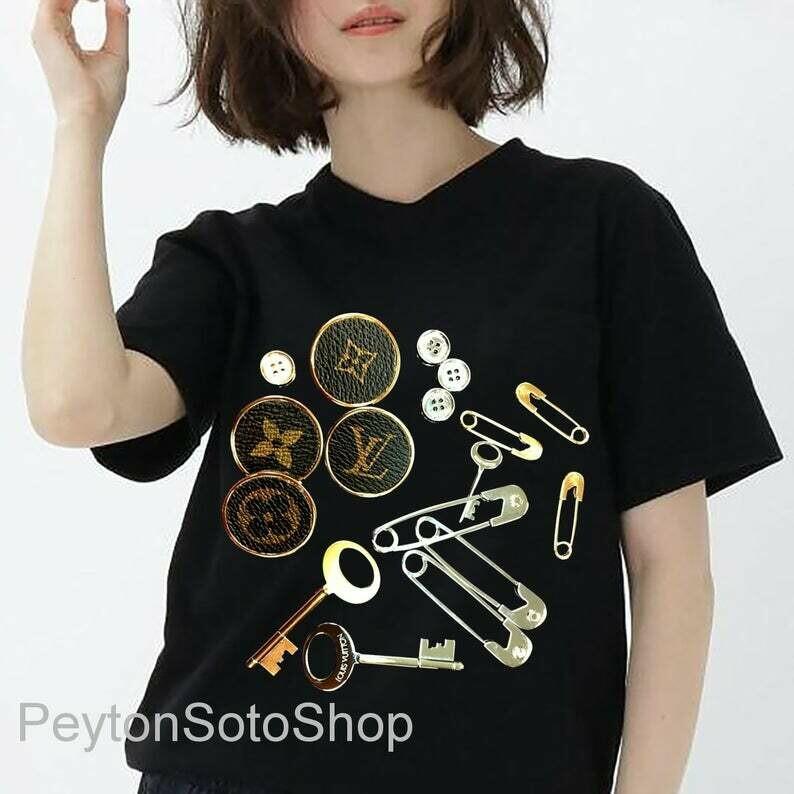 Classic shirt, LV Shirt, Louius Vuition, Shirt For Men Women, Luxury Shirts
