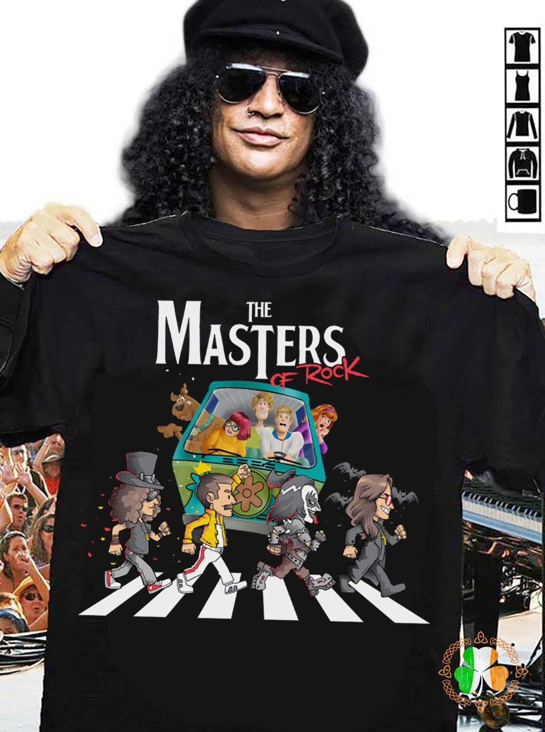 Scooby Doo The Masters Of Rock Shirt