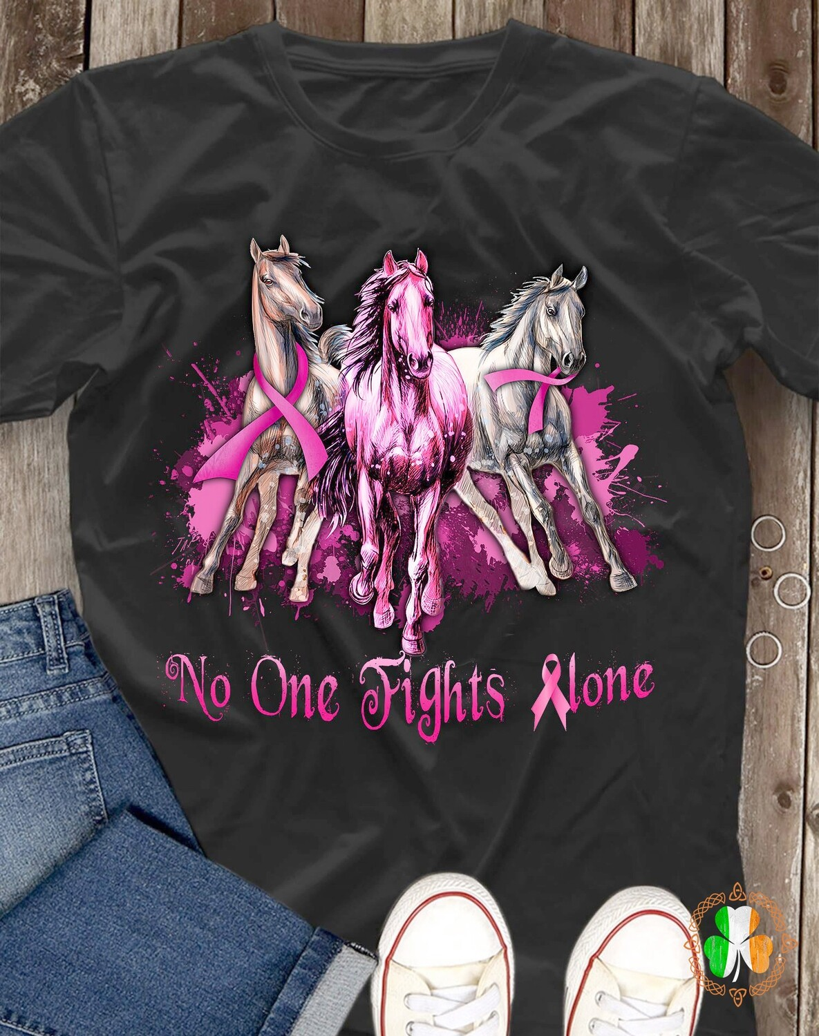 Horses No one Fights alone shirt