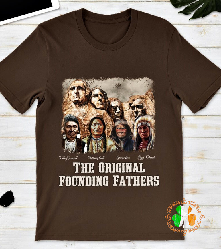 The original founding fathers signatures shirt