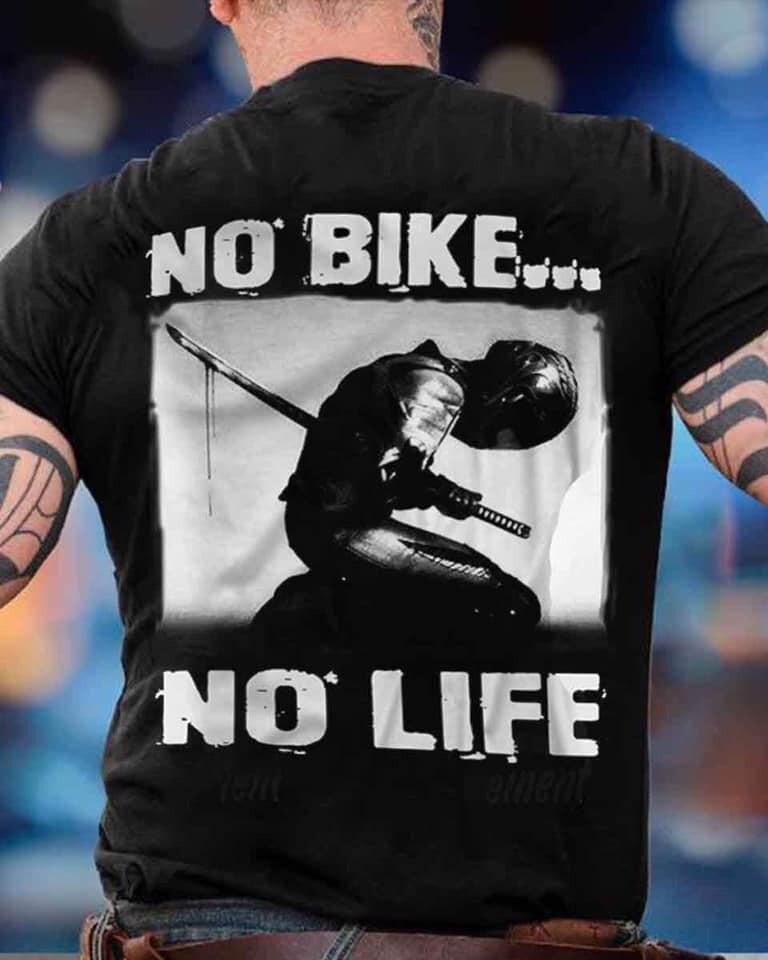 Fencing no bike no life shirt