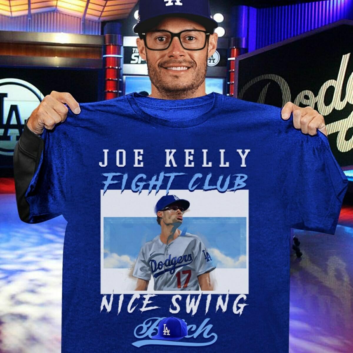 Joe Kelly Fight Club Nice Swing shirt