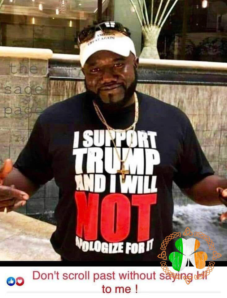 I Support Trump And I Will Not Nologize For It shirt