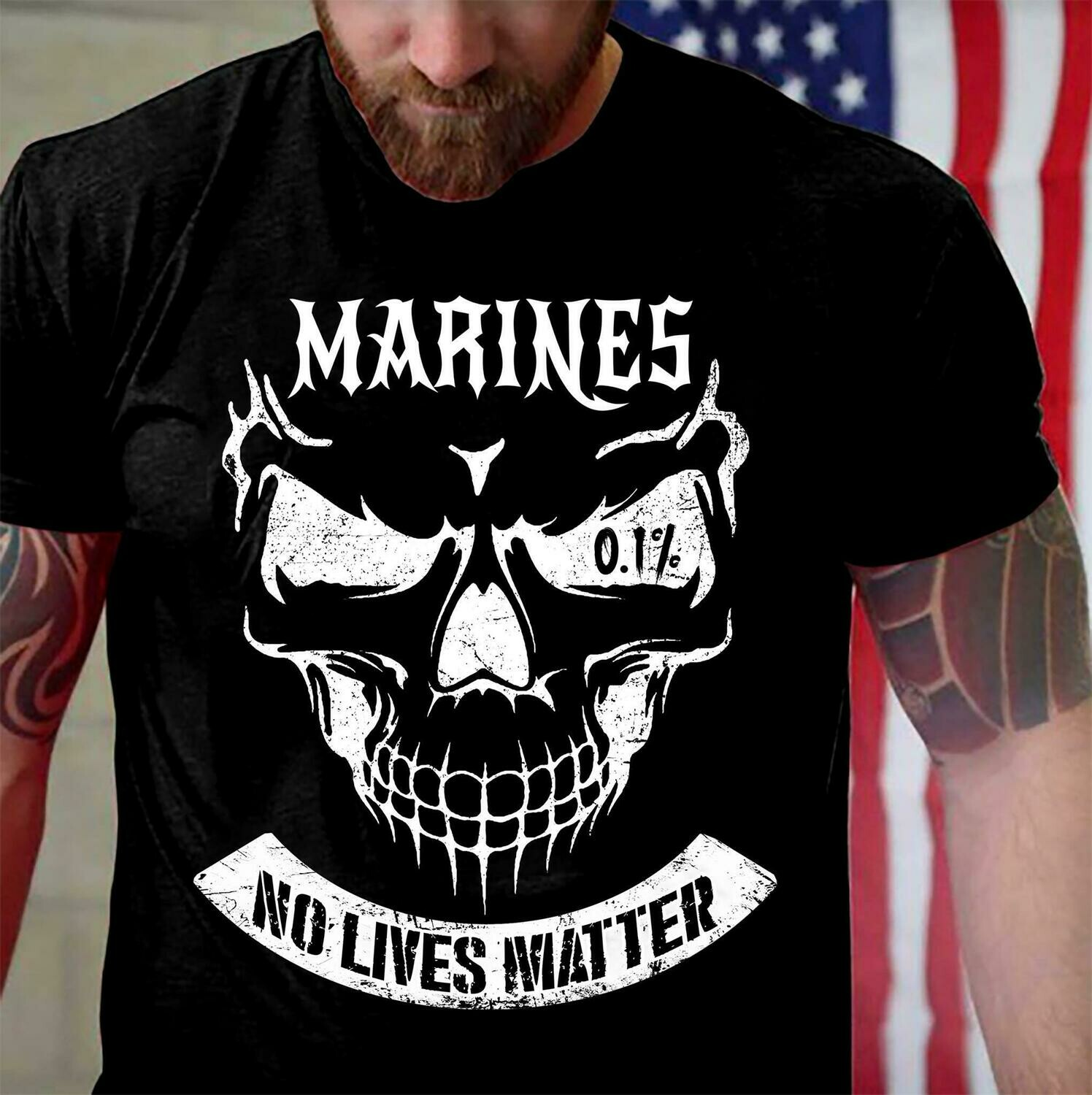 Marines No Lives Matter Shirt