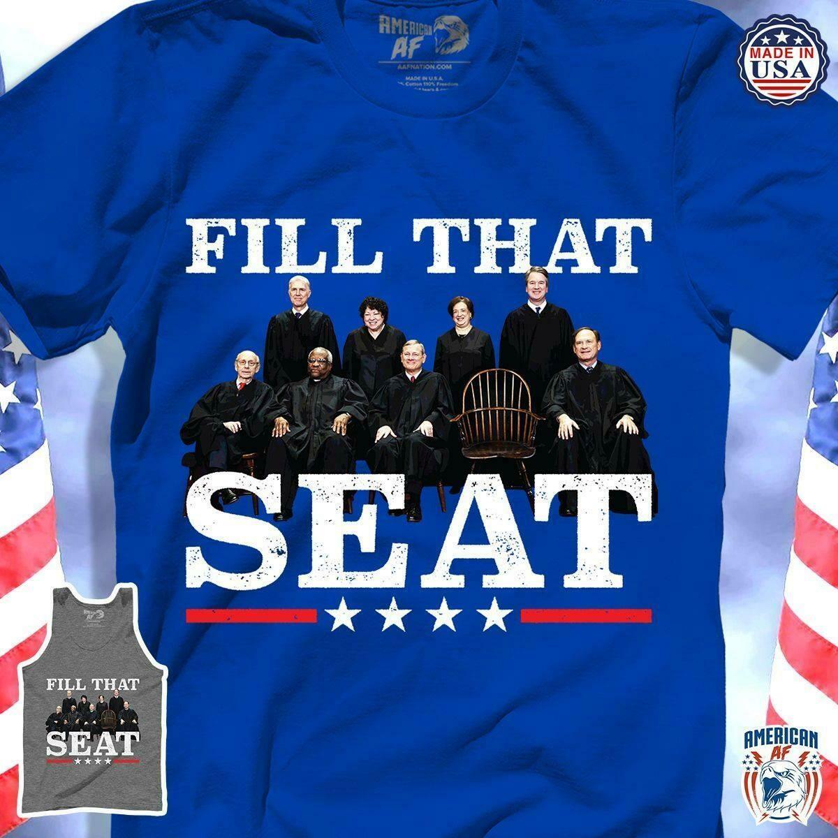 Fill that seat Ruth Bader Ginsburg T-shirt