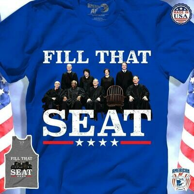 Fill that seat Ruth Bader Ginsburg T-shirt