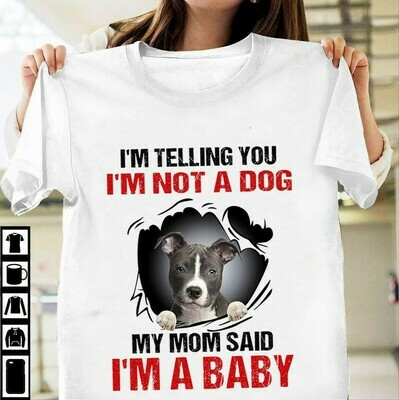 Top Blue Heeler I'm Telling You I'm Not A Dog shirt