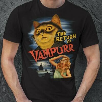 THE RETURN OF VAMPURR shirt