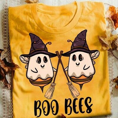 Boo Bees Couples Halloween Costume Ghost Bees shirt